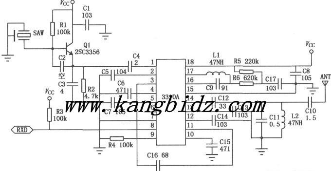 无线传输系统(声表面谐振器)电路设计