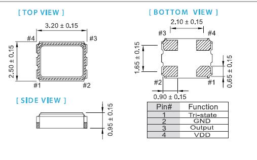 ox-3225晶振,普通有源晶振