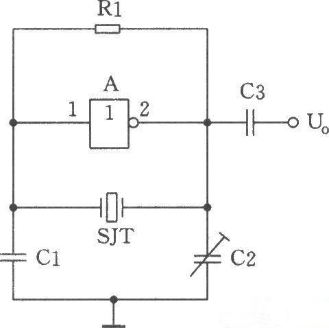 由于以晶体振荡器为核心的振荡电路
