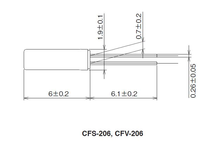 32768晶振,cfs-206表晶,citizen圆柱晶振