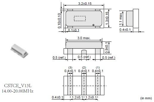 1. 振荡电路不需外部负载电容器,对应不同ic,有不同的内藏电容值.