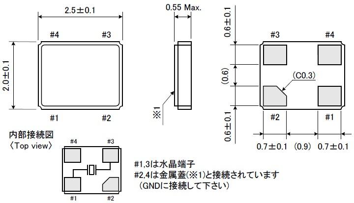 一种是皮尔斯振荡器配置,适用于晶振和陶瓷谐振槽路.