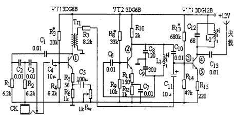 使用相同的振荡电路