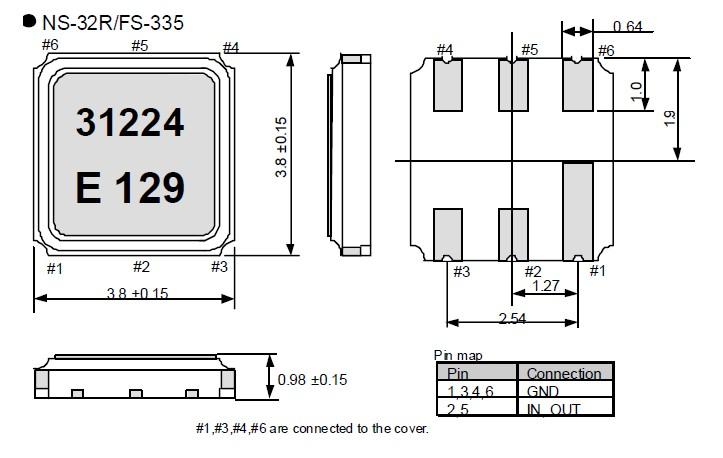 石英晶振ns-32r,家电晶振,有源晶振特性