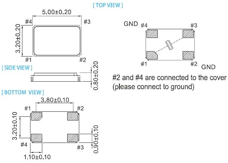 xv-5032晶振,石英晶体谐振器